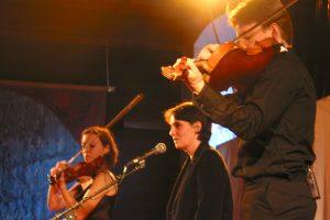 Sophie Gentils Trio en concert à l'Oreille est Hardie, St-Julien-Molin-Molette